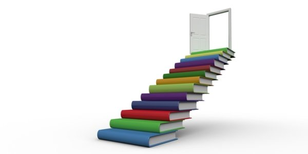 Stairway of Books RT
